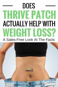 thrive patch results
