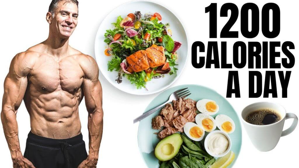 1200 calories a day