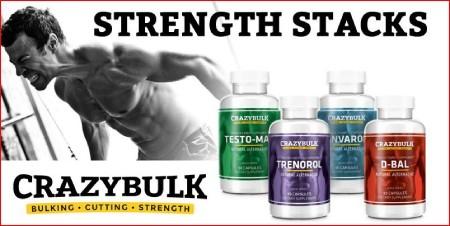 crazy bulk strength stack