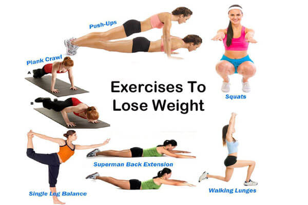 lose 30 pounds exercises