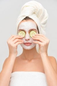 clay mask treatment